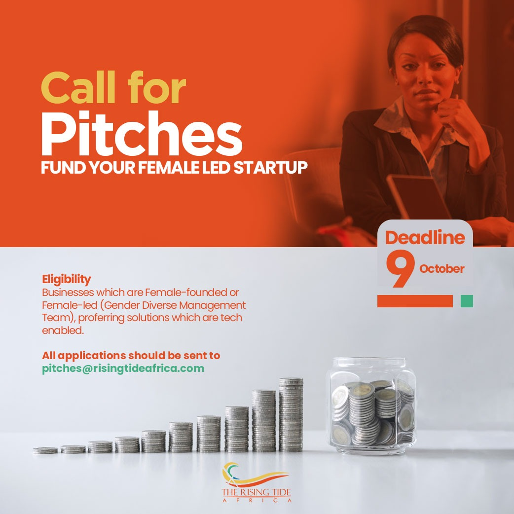 NOVEMBER 2020 DEAL DAY – CALL FOR PITCHES